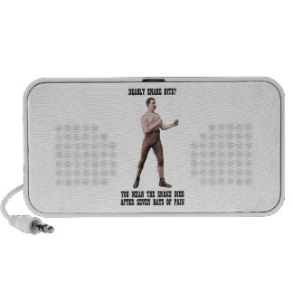 A Genuine Overly Manly Man iPhone Speaker