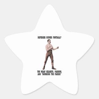 A Genuine Overly Manly Man Star Sticker