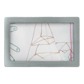 A Geometers Glass Bead Game Belt Buckle