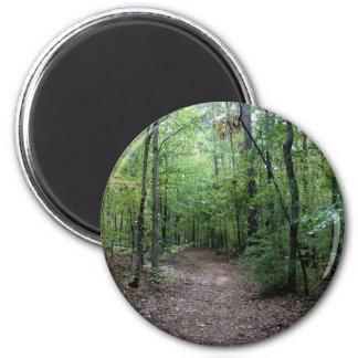 A Georgia Path Fridge Magnet