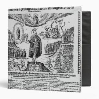 A German broadsheet depicting Adolphus Champion Binder