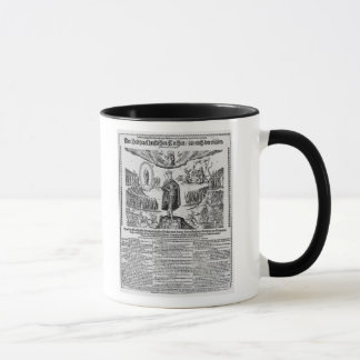 A German broadsheet depicting Adolphus Champion Mug