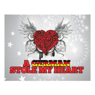 A German Stole my Heart Flyer
