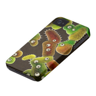 A Germaphobe's Nightmare City of Germs Case-Mate iPhone 4 Case