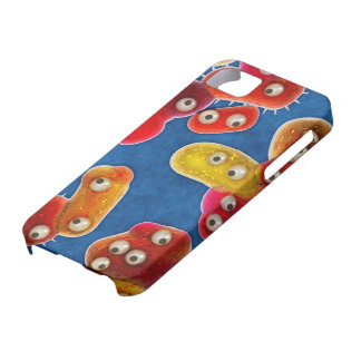 A Germaphobe's Nightmare City of Germs iPhone SE/5/5s Case