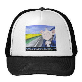 A Get-Away Car For Every Pig Trucker Hat
