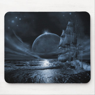 A Ghoastly Voyage Mouse Pad