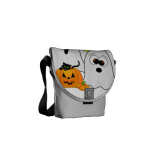 A Ghostly Duo Courier Bag