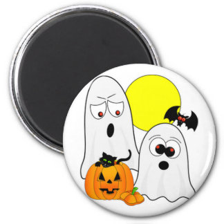 A Ghostly Duo Magnet