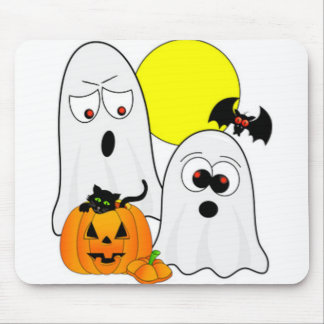 A Ghostly Duo Mouse Pad