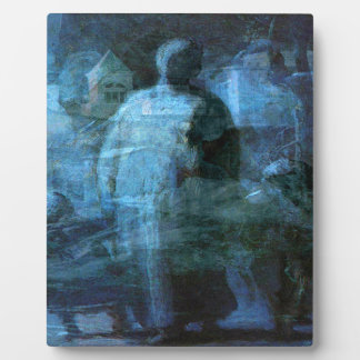 A Ghostly Walk in the Dark Plaque