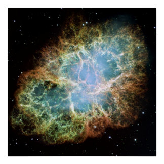 A Giant Hubble Mosaic of the Crab Nebula Posters