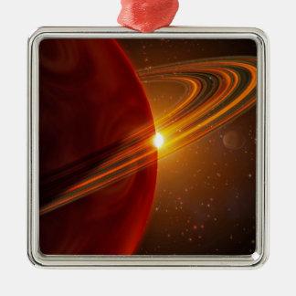 A giant planet orbiting the sun-like star 79 Ce Christmas Ornament