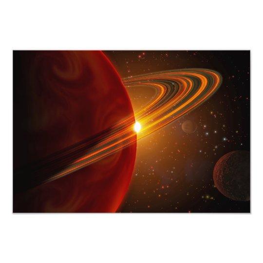 A giant planet orbiting the sun-like star 79 Ce Photo Print