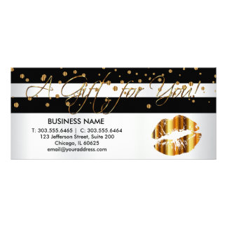 A Gift Certificate Gold Lips
