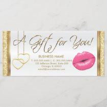 A Gift Certificate Pink Lipstick