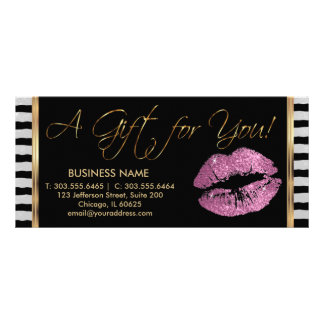 A Gift Certificate So Pink Lipstick Business 3