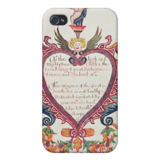 A gift dedicated to Charles II by Bartholomew iPhone 4 Cases