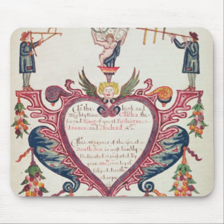A gift dedicated to Charles II by Bartholomew Mouse Pad