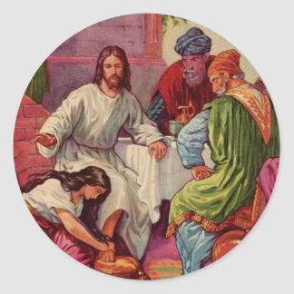 A Gift for Jesus Classic Round Sticker