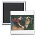 A Gift for Sunny Morgan Horse Art Magnet