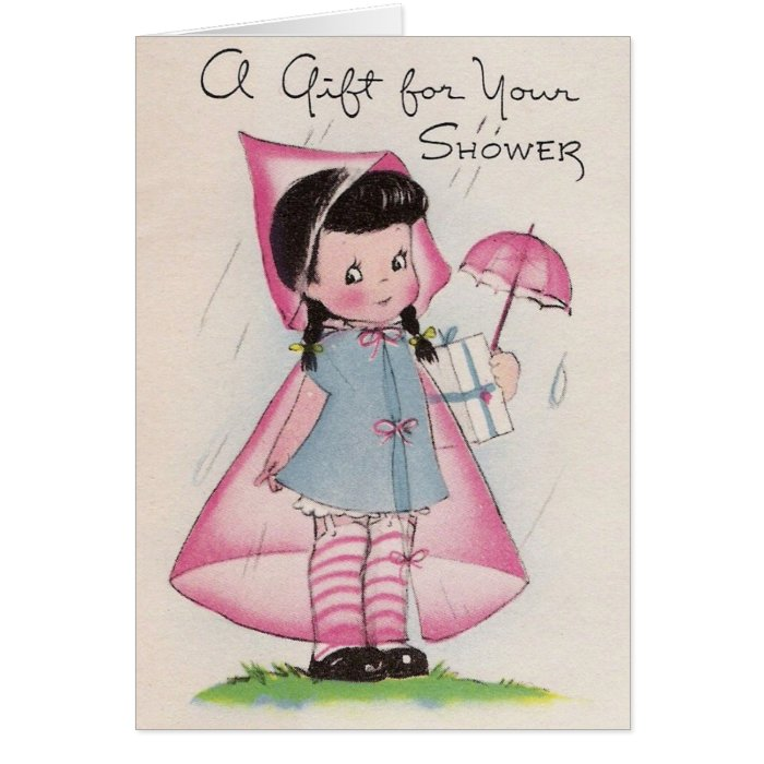 A Gift for your Shower Card
