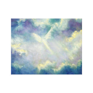 A Gift From Heaven Angel Art Print on Canvas