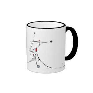 a gift from the heart ringer coffee mug
