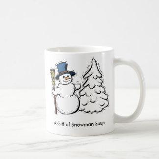 A Gift of Snowman Soup Mugs
