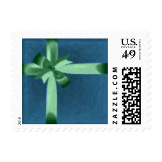 A Gift with Bow Postage