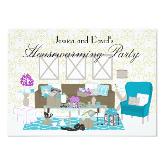 A Gifted Room 4.5x6.25 Paper Invitation Card
