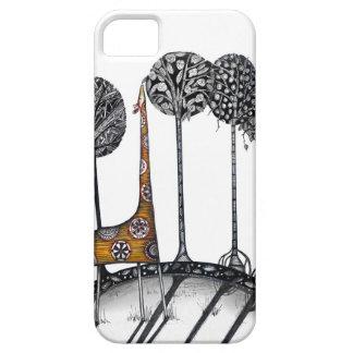 A giraffe named Kennett iPhone 5 Cover