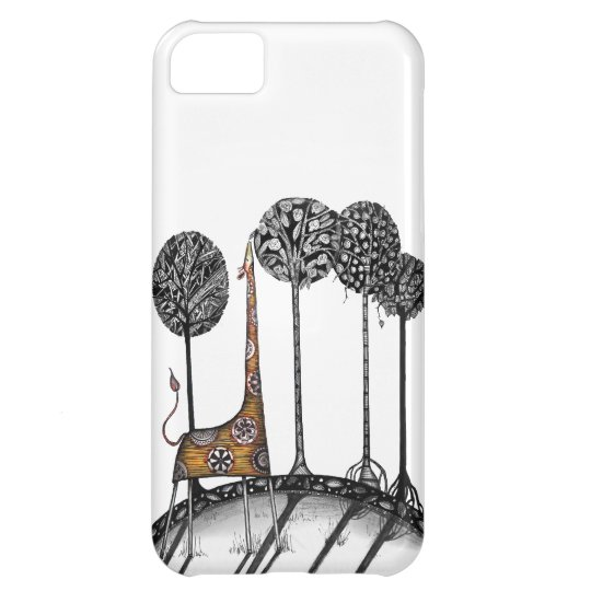 A giraffe named Kennett Case For iPhone 5C