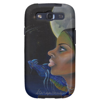 A girl and her dragon stargazing samsung galaxy SIII covers