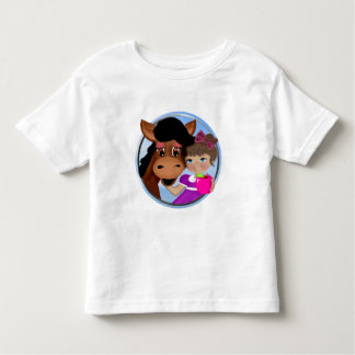 A Girl and her Horse Toddler T-shirt