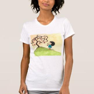 A Girl and Her Mushroom Tree T-Shirt