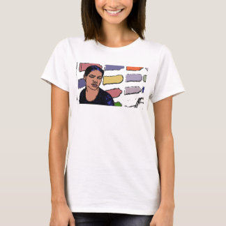 A girl at a healthcare facility. T-Shirt