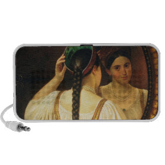 A girl at the mirror, 1848 portable speaker
