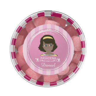 A Girl From PASADENA Logo Chewing Gum