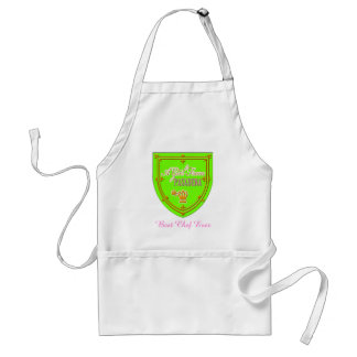 A Girl From PASADENA Logo Emblem Adult Apron