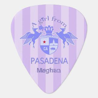 A Girl From PASADENA Logo Emblem Pick