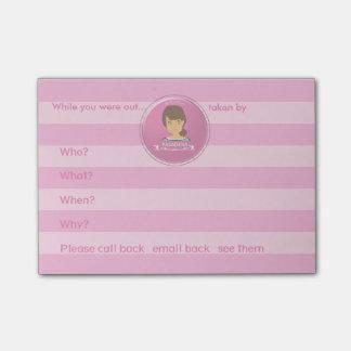 A Girl From PASADENA Logo Post-it® Notes