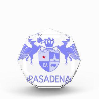 A Girl From PASADENA Logo Purple Emblem Awards