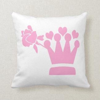 A Girl from Pasadena Logo Throw Pillow