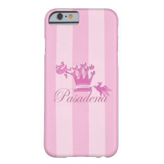 A Girl From PASADENA Logo with Pegasus Barely There iPhone 6 Case