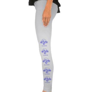 A Girl From PASADENA Logo with Pegasus Legging Tights