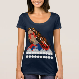 A girl in town T-Shirt