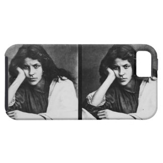 A Girl of Chioggia Dreaming of Her Loves (b/w phot iPhone 5 Covers