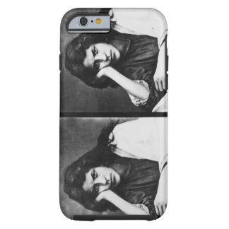 A Girl of Chioggia Dreaming of Her Loves (b/w phot Tough iPhone 6 Case