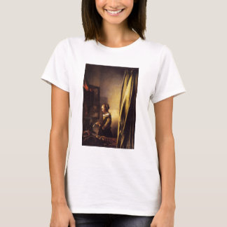 A Girl Reading a Letter at an Open Window T-Shirt